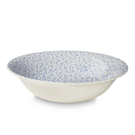 Burleigh Pale Blue Felicity Pudding or Soup Bowl 20.5cm 8in