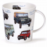 Dunoon Cairngorm Shape Mug - Classic Collection - Landrovers - Boxed