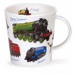 Dunoon Cairngorm Shape Mug - Classic Collection - Trains Steam Engines - Boxed