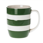 Cornishware - Cornish Colours - Adder Green Mug 12oz / 34cl
