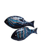 Poole Pottery Celestial Fish - Pair