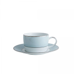 Fairmont & Main Cheltenham Teacup & Saucer - Blue & White