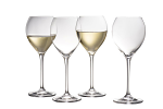 Galway Crystal Clarity White Wine Set of 4