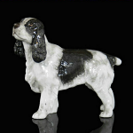 Fine Bone China Cocker Spaniel Miniature by Keith Sherwin