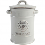 T&G Pride of Place Coffee Jar in Cool Grey