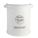 T&G Pride of Place Large Cooking Tools Jar in White