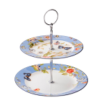 Aynsley Cottage Garden Two Tier Cake Stand