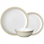 Denby Linen 12 Piece Tableware Set