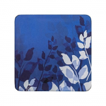 Denby Colours Blue Foliage Coasters Set of 6