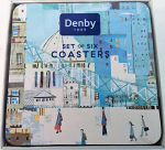 Denby London Scene Coasters Set of 6