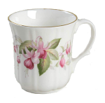 Duchess China - Fuchsia Panel Mug