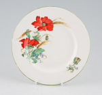 Duchess China Poppies - Teaplate 16cm