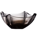Galway Crystal Dune Onyx Bowl 10 inch