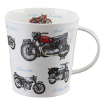 Dunoon Cairngorm Shape Mug - Classic Collection - MotorBikes - Boxed