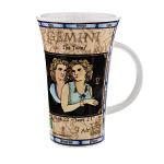 Dunoon Zodiac Gemini Star Sign Mug - Glencoe Shape - Boxed