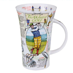 Dunoon The World of Golf Large Mug Glencoe Shape Boxed