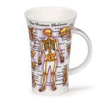 Dunoon Glencoe Shape Mug - The Human Body - Boxed