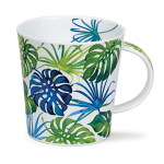 Dunoon Cairngorm Shape Mug - Orinoco Cheese Plant - Boxed