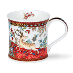 Dunoon Wessex Shape Mug - Garden of Eden Red - Boxed