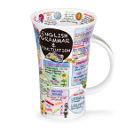 Dunoon Glencoe Shape Mug - English Grammar - Boxed