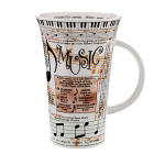 Dunoon Glencoe Shape Mug - Music - Boxed