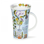 Dunoon Glencoe Shape Mug - World of Gin - Boxed
