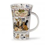 Dunoon Glencoe Shape Mug - World of the Cat - Boxed