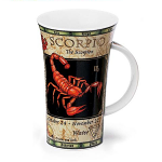 Dunoon Zodiac Scorpio Star Sign Mug - Glencoe Shape - Boxed