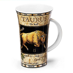 Dunoon Zodiac Taurus Star Sign Mug - Glencoe Shape - Boxed