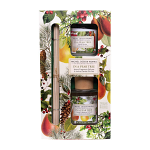 Michel Design Works - In a Pear Tree Home Fragrance Reed Diffuser & Votive Candle Gift Set