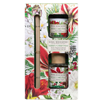 Michel Design Works - Merry Christmas Home Fragrance Reed Diffuser & Votive Candle Gift Set