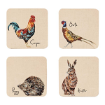 Edale - Square Coaster Set of 4 - Assorted
