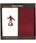 Men's Handkerchiefs - Football - Twin Pack