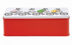 Jimbob Art - Long Deep Rectangular Tin - Bears Riding Bikes