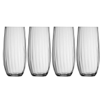 Galway Crystal Erne Hiball Tumbler Set of 4