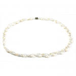 Fresh Water Pearl - Cluster Necklace White