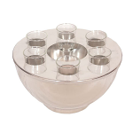 Epicurean Spirit Cooler & 6 Shot Glasses