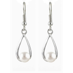 Lila Jewellery Freshwater Pearl - Earrings - Rain Drop 22mm