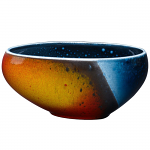 Poole Pottery Flare Asymmetrical Bowl