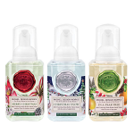 Michel Design Works - Mini Foaming Hand Soap Set - Merry Christmas, Christmas Snow & In a Pear Tree