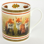Robert Fuller - Fox Cubs Bone China Mug