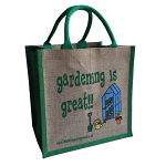 Jute Shopping Bag - Gardening is Great
