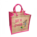 Jute Shopping Bag - Gin is Great