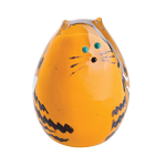 Caithness Glass Paperweight Purrfect - Ginger Cat