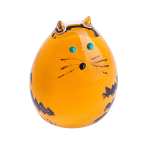 Caithness Glass Paperweight Purrfect - Ginger Kitten