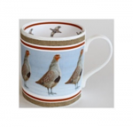 Robert Fuller - Grey Partridge Bone China Mug