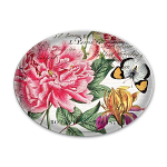 Michel Design Works - Peony Glass Soap Dish