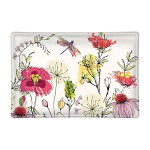 Michel Design Works - Posies Rectangular Glass Soap Dish