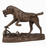 Frith Sculpture - Gundog Retrieving Duck