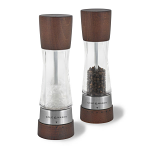 Cole & Mason - Gourmet Precision Derwent Acrylic and Forest Wood Salt & Pepper Mill Gift Set